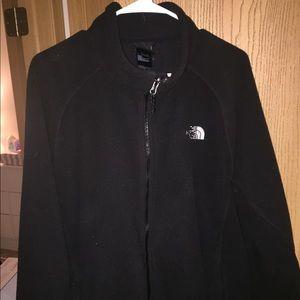 Men's north face fleece zip up jacket